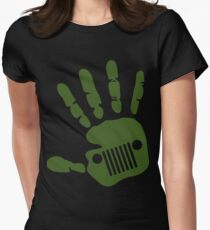 Jeep wave! Women's Fitted T-Shirt