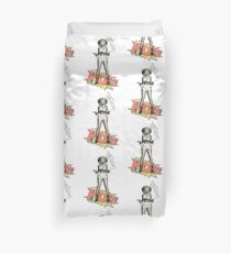 Retro Cowgirl Duvet Cover