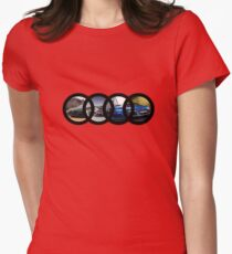 Audi  Women's Fitted T-Shirt
