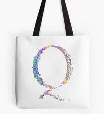 QAnon - Glitch Tote Bag