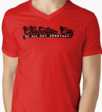 Chocolate City - All Day, ERRRYDAY! Men's V-Neck T-Shirt