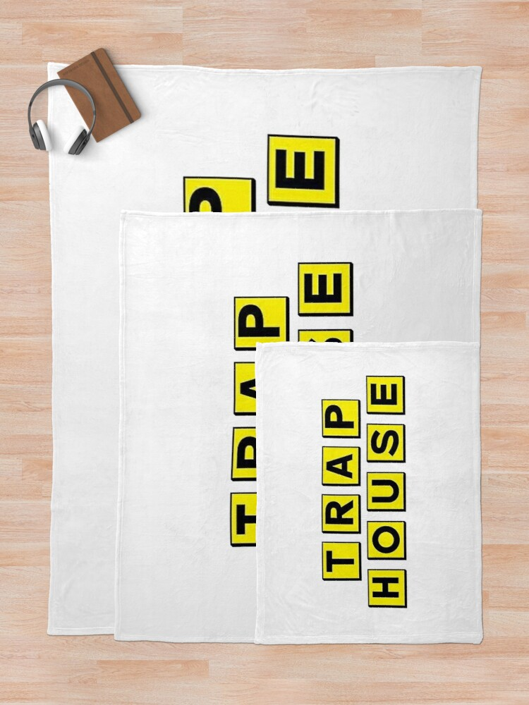 Alternate view of Trap House  Throw Blanket
