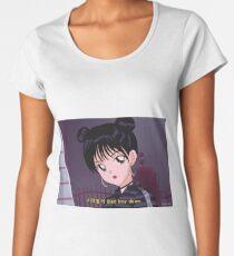 Red Velvet Irene - Bad Boy 90's anime Women's Premium T-Shirt