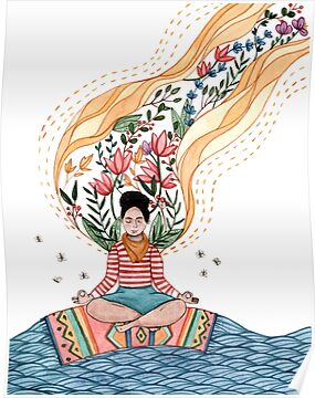 Meditation Artwork Poster