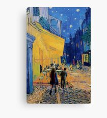 vincent, amy and the doctor Canvas Print