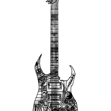 n.y.c guitar by geneticthreat