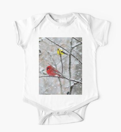Goldfinch and Cardinal Kids Clothes