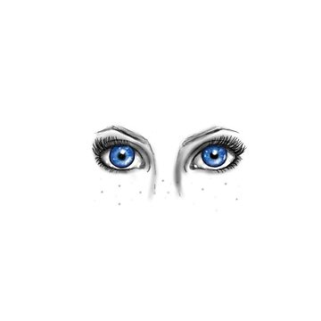 Crystal eyes by MollyAmelia15