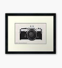 Olympus OM1 35mm slr Framed Print
