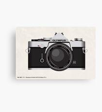 Olympus OM1 35mm slr Canvas Print