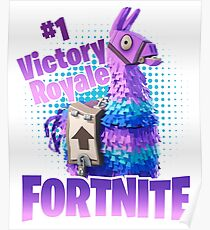 Fortnite Victory Royale Lucky Llama Poster