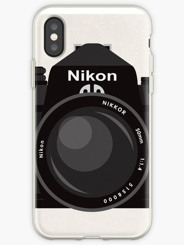 Nikon FE 35mm slr by kinographics