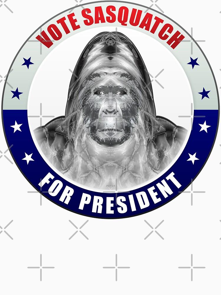 Sasquatch For President von morningdance