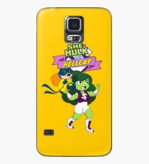 She-Hulk and Hellcat Case/Skin for Samsung Galaxy