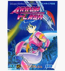 Arrow Flash Japanese Front Cover Poster