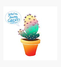 Positivy Plant Photographic Print
