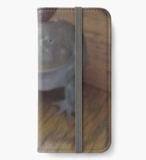 low quality screaming frog iPhone Wallet/Case/Skin