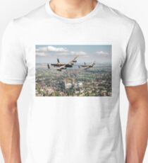 Two Lancasters over Lincoln Unisex T-Shirt
