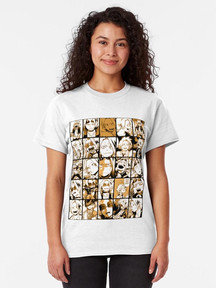Alternative Ansicht von BNHA Kaminari Denki Collage Classic T-Shirt