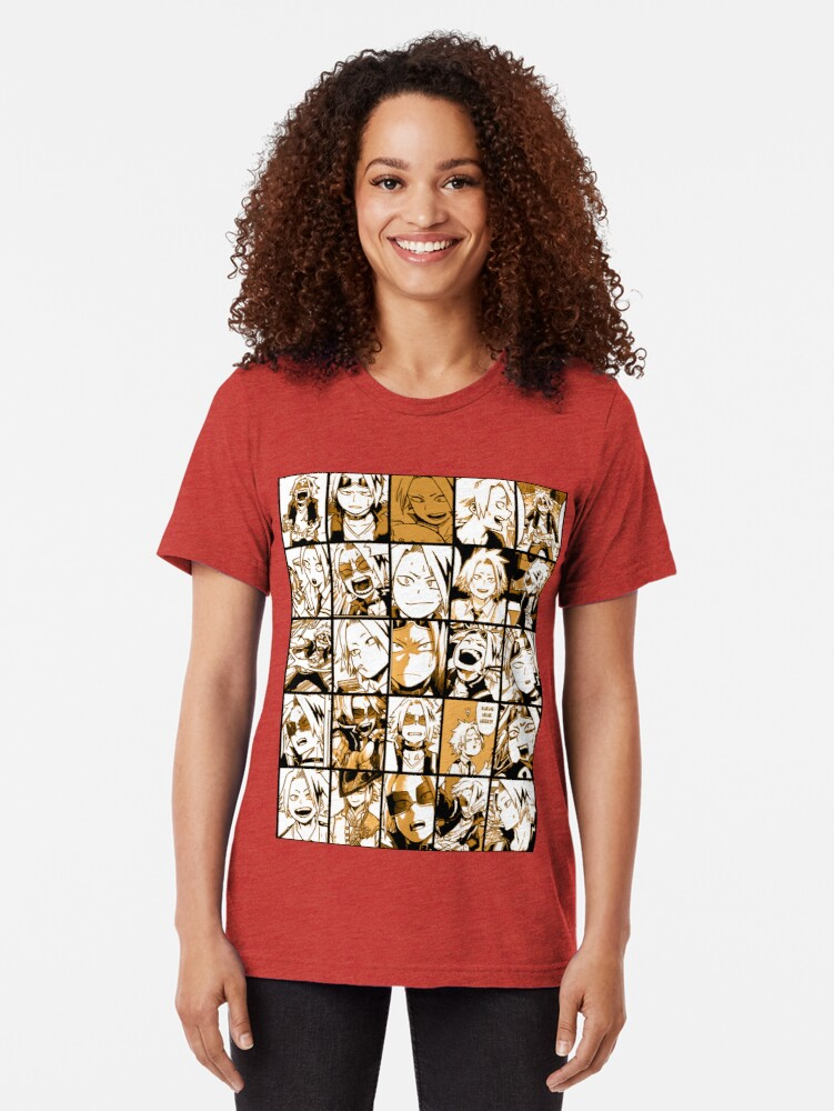 Alternative Ansicht von BNHA Kaminari Denki Collage Vintage T-Shirt