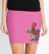 Pink Bunny - Rabbit Mini Skirt