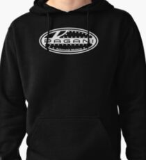 Pagani Black And White Pullover Hoodie