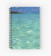 Bita Waves II Spiral Notebook