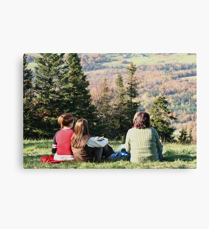 Relaxing Time Canvas Print