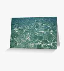 Waves and Ripples Greeting Card
