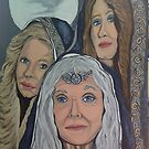 Triple Goddess by Kellea Croft