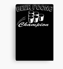 Beer Pong Champion Mens Womens Hoodie / T-Shirt Canvas Print