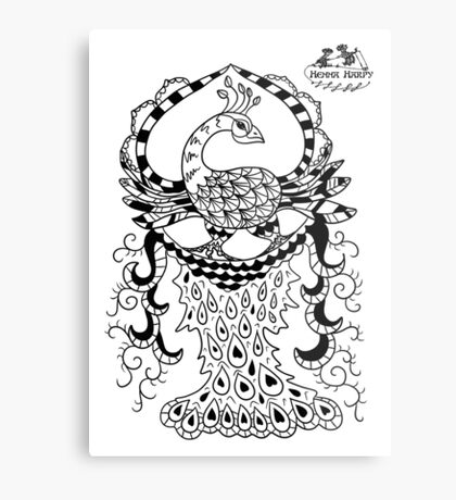 Peacock#2 Metal Print