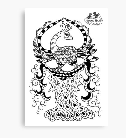 Peacock#2 Canvas Print