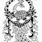 Peacock#2 by ellejayerose