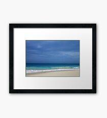 Ocean Blues  Framed Print