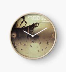 The deathly hallows Clock