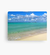 Breezy Day at Gillam Bay  Canvas Print