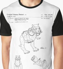 Star Wars Tauntauns Patent Black Graphic T-Shirt