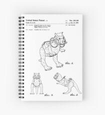 Star Wars Tauntauns Patent Black Spiral Notebook