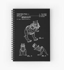 Star Wars Tauntauns Patent White Spiral Notebook