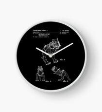 Star Wars Tauntauns Patent White Clock