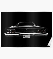 1968 Dodge Charger - schwarz Poster