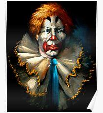 Clown Face Poster