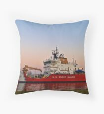 USCGC Mackinaw Throw Pillow