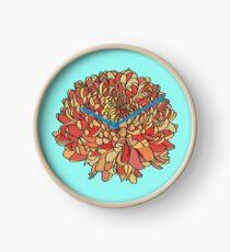 Chrysanthemum Clock