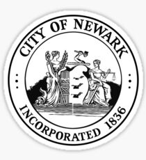 Seal of Newark Sticker