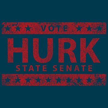 Vote Hurk for State Senate by huckblade