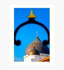 Kapitan Keling Mosque, Penang Art Print