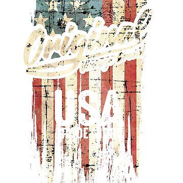 USA T-Shirt by rahmenlos