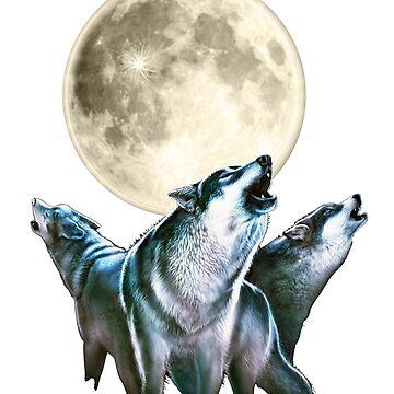 Wolf T-Shirt by rahmenlos